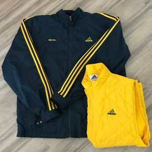 ADIDAS 1990s All Weather Jacket & Zip In Vest Sz L